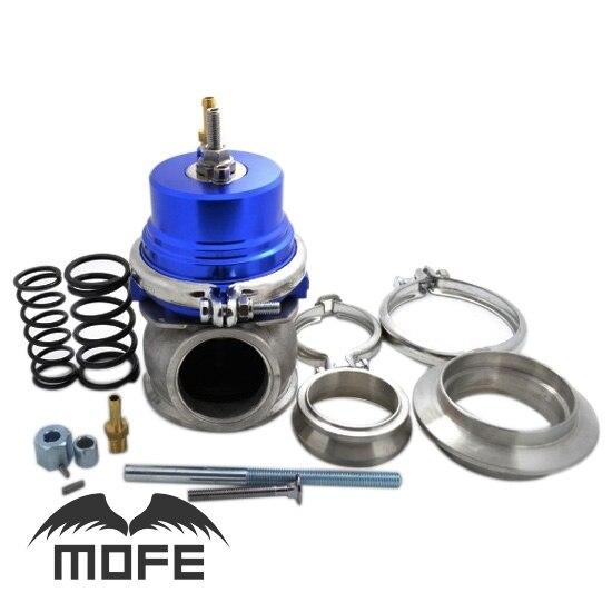 MOFE SPECIAL OFFER Adjustable External 60mm V Band External Wastegate Purple With Spring Flange adjustable external 60mm v band external wastegate