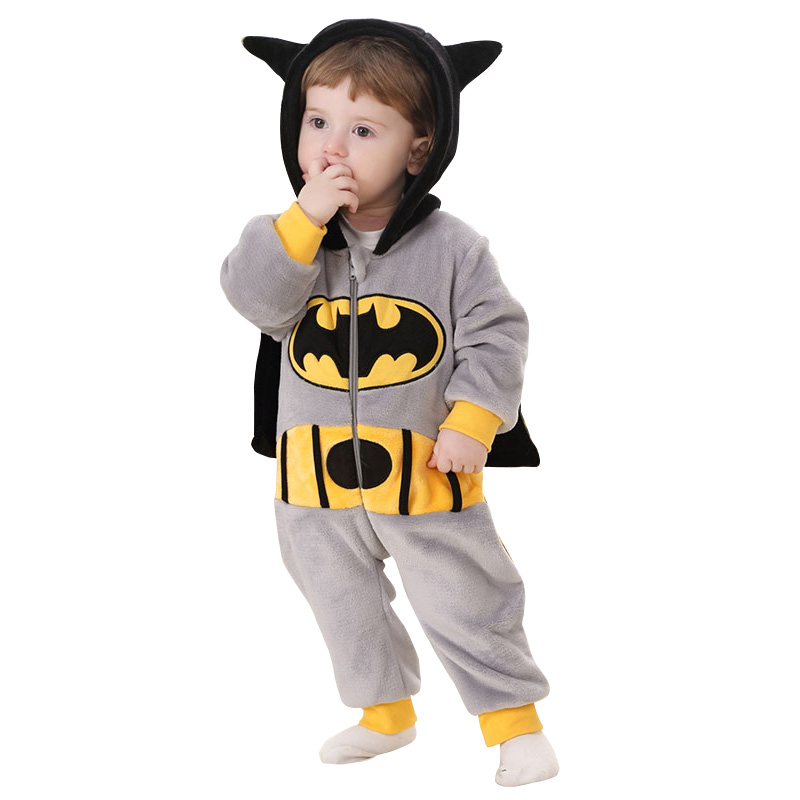 Baby Romper Newborn Boy Clothes Infant Jumpsuit Spring Hooded Flannel Toddler Overalls Boys Rompers Cartoon Clothing For Kids summer 2018 baby boy rompers cartoon animal romper jumpsuit kids clothes infant clothing macacao ropa newborn baby rompers