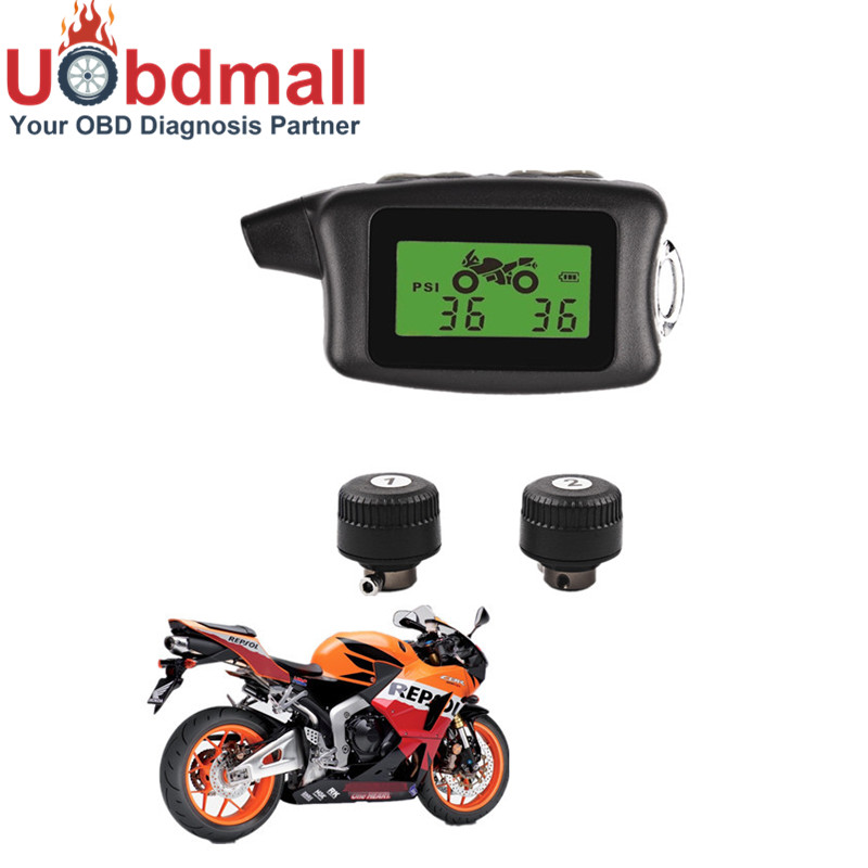 Bandenspanningsmeter Auto Motorcycle Tpms Wireless Tire Pressure Monitoring System