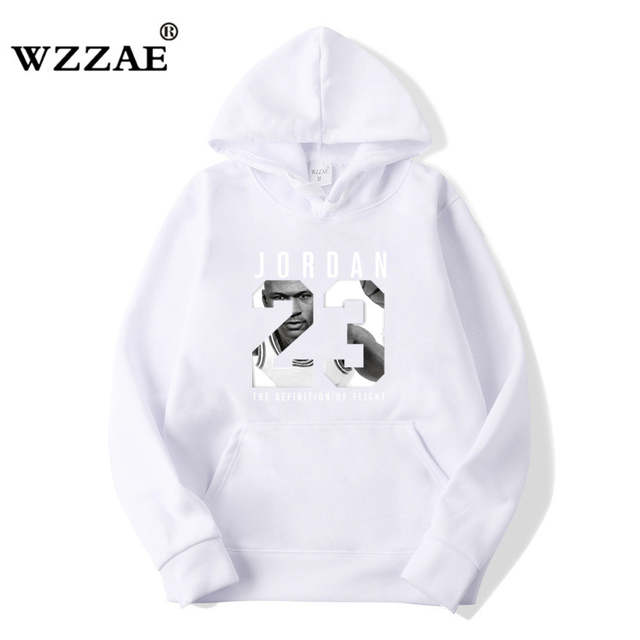 ff2be66efb9 Online Shop WZZAE Autumn 2018 New Women/Men's Casual Players JORDAN 23  Print Hedging Hooded Fleece Sweatshirt Hoodies Pullover Size S-XXXL    Aliexpress ...