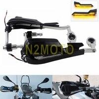 1 Pair Motorcycle Racing Bike Handguards Universal 7/8 Brush Hand Guard Protection Shield Cover For Honda BMW R1200GS F800 ADV