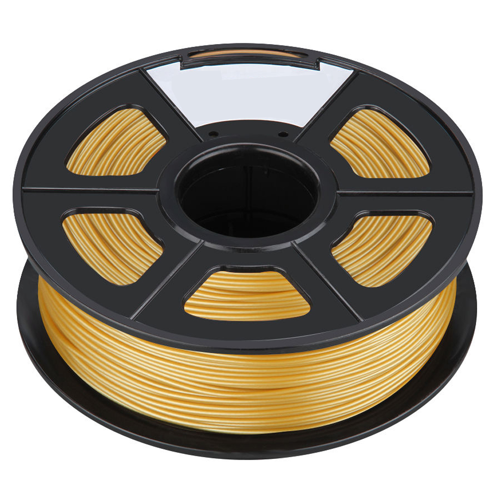 New 3D Printer Printing Filament ABS -1.75mm ,1KG, for Print RepRap Color: Golden 3d printer filament 1 75mm 3mm abs conductive color change pa nylon flexible 1kg 2 2lb for reprap markerbot