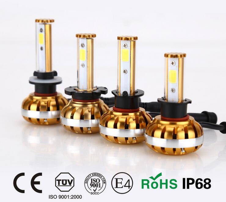 On sale 30W <font><b>3200LM</b></font> H1 H3 <font><b>H7</b></font> H8 H9 H11 880/881 9005 9006 D2/D4 COB <font><b>LED</b></font> Headlight Conversion Kit Lamp fog Bulb auto accessories