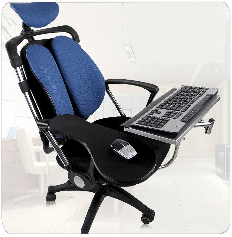 Dl-ok051sw Многофункциональный 20 кг нержавеющей Полная движения Рабочий стол зажима клавиатура/ноутбук стол держатель квадратный коврик для мы...