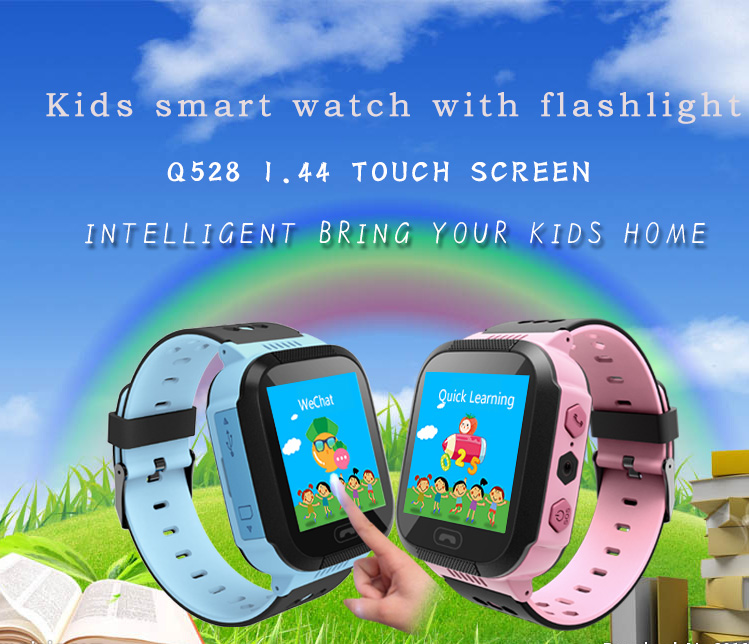 MOCRUX Q527 Smart watch Children Kid Wristwatch SOS GSM Locator Tracker Anti-Lost Safe Smartwatch Child Guard for iOS Android (1)