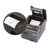 N-806 2017new al por mayor de alta calidad de 80mm impresora térmica de recibos de corte automático de impresión puerto USB o puerto Ethernet