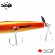 SeaKnight Floating Pencil SK034 Spinnerbait 1PC 14.5g 90mm 3.5′ Topwater Hard Fishing Lure Spinner Bait VMC Hooks with Propeller