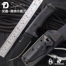 Picapiedra de acero al aire libre de caza que acampa cuchillo táctico D2 G10 handle Táctico de la supervivencia del bolsillo cuchillos Utility herramientas EDC