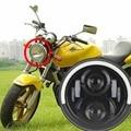 7 pulgadas de la motocicleta proyector faros con angel de luz led drl para honda cb400 cb500 cb1300 hornet 250 600 900 tev