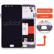 Für Oneplus Drei Oneplus 3 A3000 A3003 LCD Display Touchscreen Handy Lcds Versammlung Ersatzteile Mit Kostenlose Tools