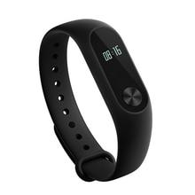 Черный Сяо Mi mi Группа 2 умный Браслет пульса монитор miband 2 Smart Браслет с OLED Экран Touchpad