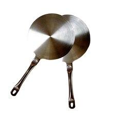 Placa de guía de calor de inducción para cocina, 24cm, disco convertidor de placa de guía de calor de acero inoxidable para cocina magnética