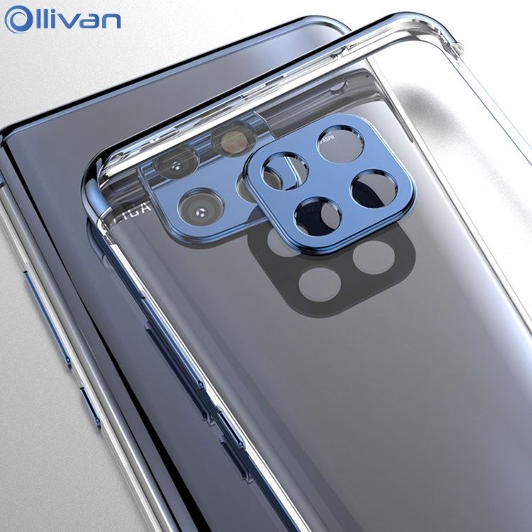Luxury Plating TPU Cases For Huawei P20 20 Lite Case Transparent Silicone Cover For Huawei Huawei P20 Mate 20 Lite P20 Pro