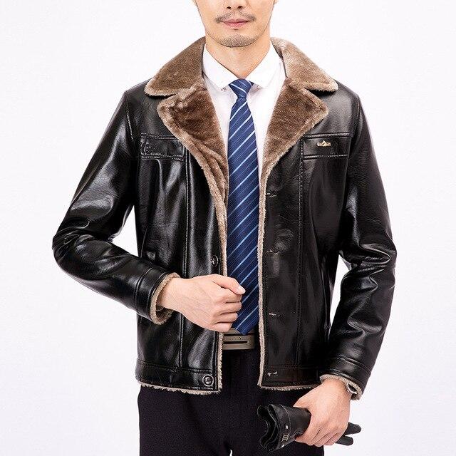 Veste costume homme revers cuir
