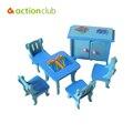 2016 Juguetes Muebles Muebles de casa de Muñecas En Miniatura Muebles Jugar Juguetes Para Niñas Habitaciones Miniatura Regalos Para Niños WJ023