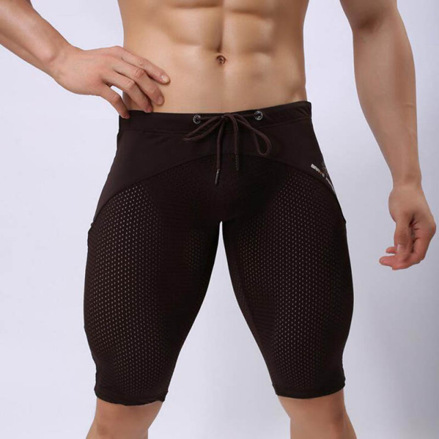 KWAN.Z men's shorts clothing masculina de marca skinny mens shorts masculino short homme men's breeches compression shorts