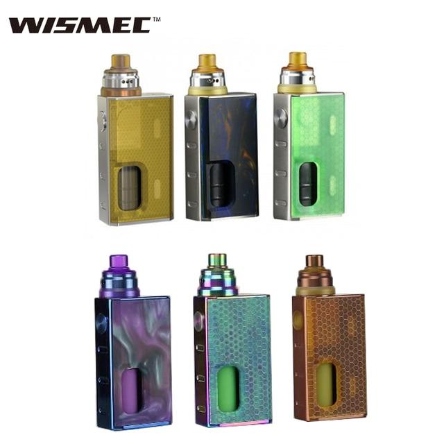 Оригинальный Wismec LUXOTIC BF Squonker комплект с luxotic BF коробка Tobhino BF RDA PK geekvape athena BF комплект vape электронная сигарета