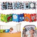 Baby Toys Cloth Book Soft Animal Newborn Cot Bedding Set Cute Unfolding Activity Books Boys Girl Animals Cartoon Bed Bumper