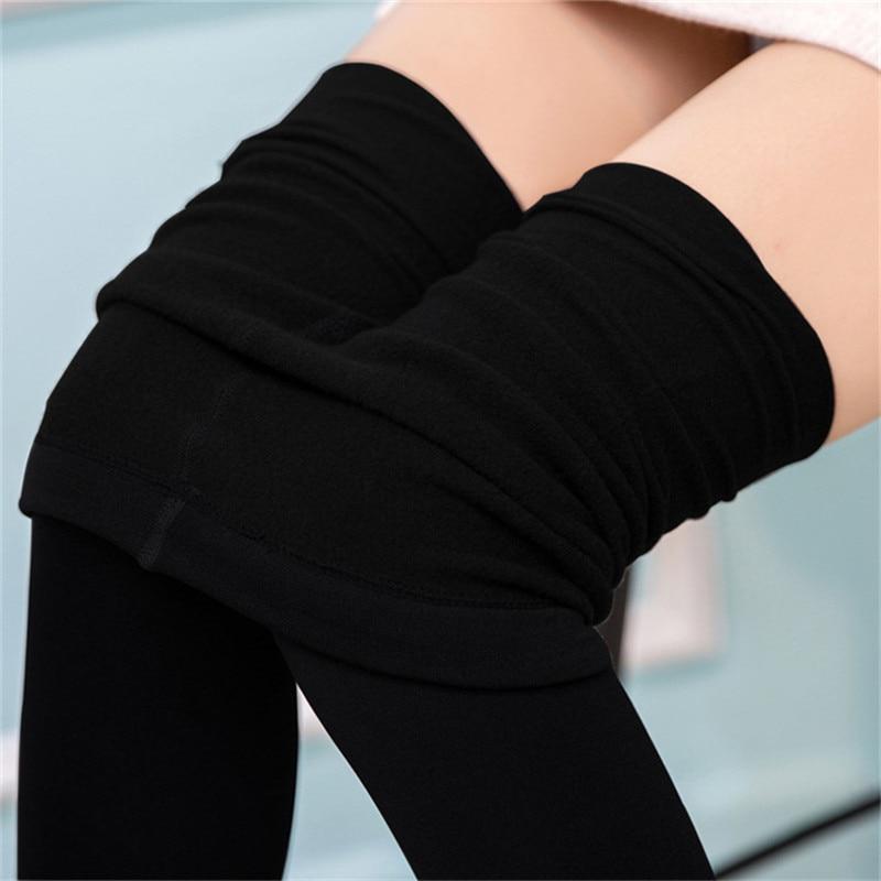 Liva Girl Winter Leggings Women Fitness Legging Fleece ...