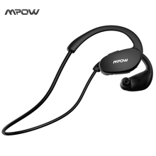 Mpow Bluetooth Headphones Wireless V4.1 Sweatproof Sport Headphone for Running Exercise Build-in Mic Hands-free Calling Earphone