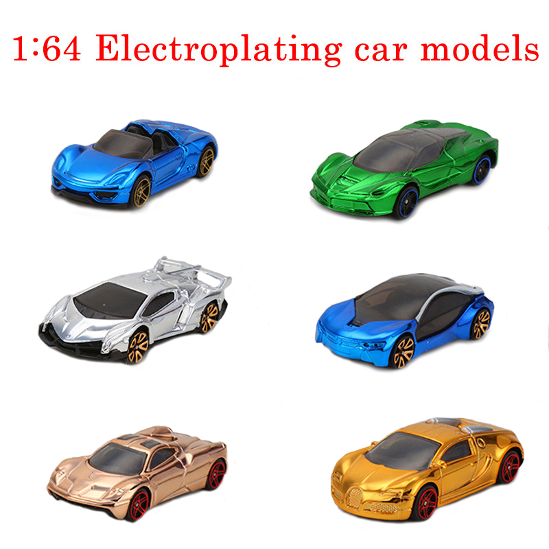 1:64 Hot Wheels Fast and Furious Electroplated Metal Toys Cars For Boys Diecast Pocket Cars Gifts Toys Children's Educational