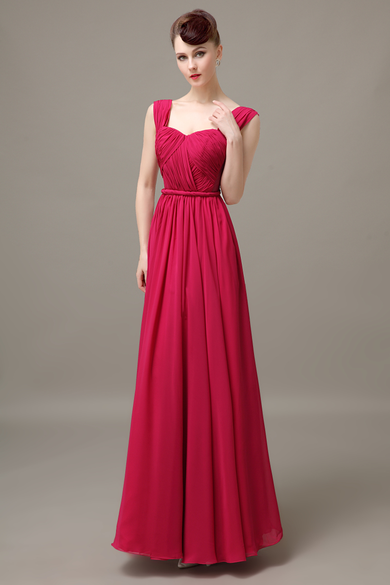 Online get cheap fuchsia plus size bridesmaid dress aliexpress fuchsia long chiffon pleated cheap discount low back bridesmaid dress wedding guest dress for bridesmaid plus size bd466 ombrellifo Images