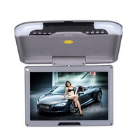 13 Inch LCD TFT Car Ceiling Monitor Flip Down Roof Mount LED Digital Wide Screen Monitors