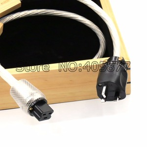 Image 4 - 1.5m DIN 2 Supreme Reference przewód zasilający UK kabel z 20A IEC wtyczka zasilania kabel HIFI moc dźwięku