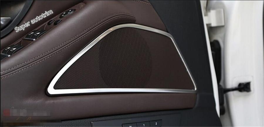 Accessories For BMW X3 F25 X4 F26 2012-2017 Roof Dome Mic Microphone Kit Trim