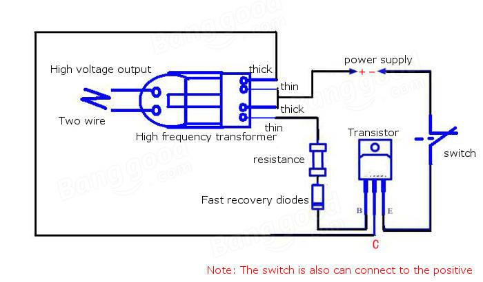 aliexpress com buy new arrival inverter boost high voltage rh aliexpress com Mopar Electronic Ignition Wiring Diagram Mopar Electronic Ignition Wiring Diagram