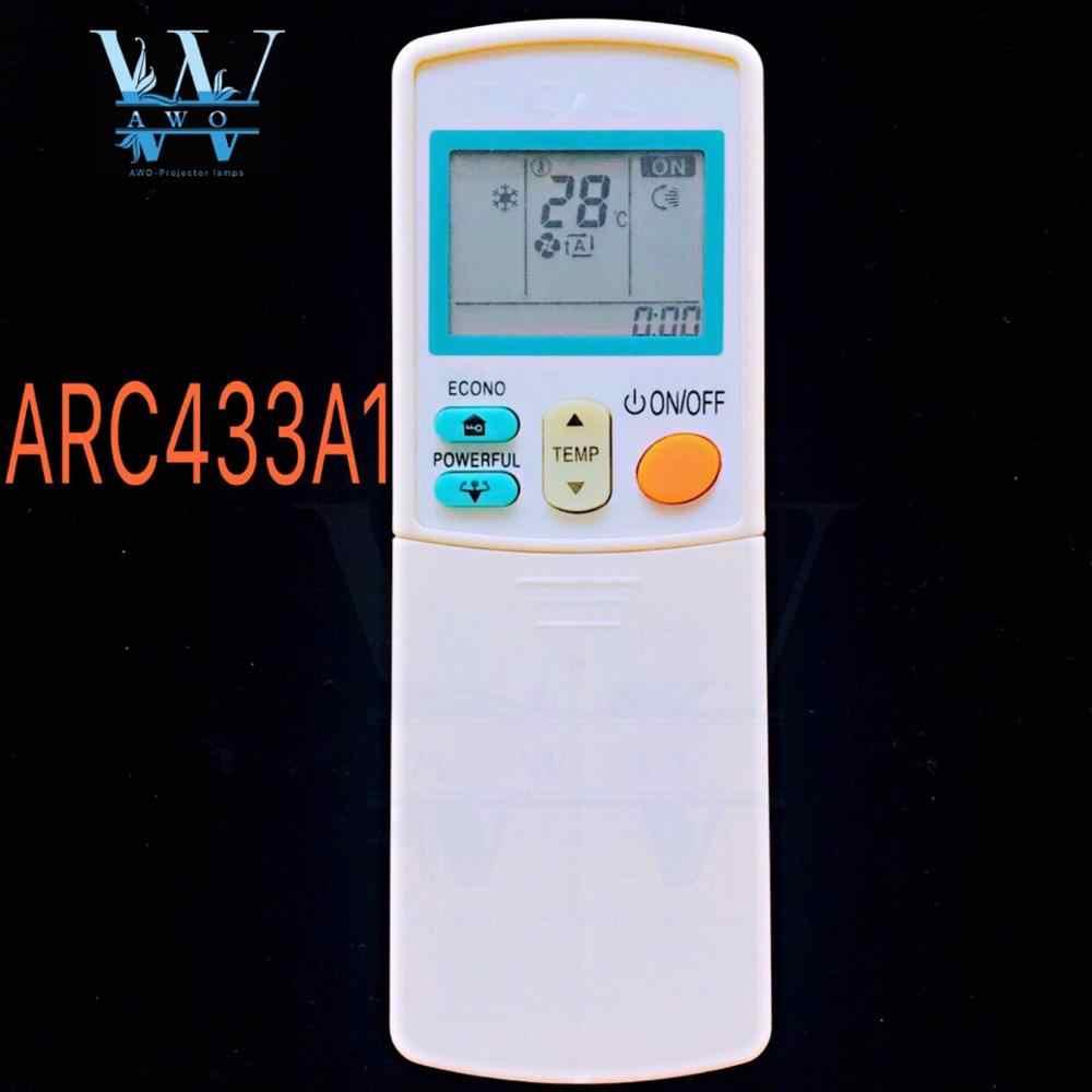 FOR Daikin ARC433B50 ARC433A55 ARC433A98 ARC433A1 ARC433B71 ARC433A75  ARC433A83 ARC433B71 Air Conditioner Remote Control