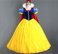 New Snow White Dress Costumes Snow Queen Costume Princess Cosplay Anna Made Women Holiday Party Clothing Costumes For Adults