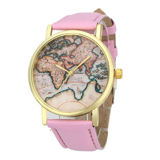 New women watch vintage earth world map watch alloy women analog new women watch vintage earth world map watch alloy women analog quartz wrist colorful amazing wonderful gumiabroncs Image collections