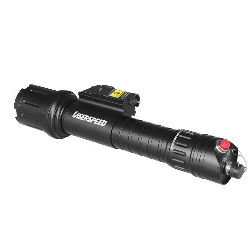Acecare Drop shipping LS CL5 R Rifle Tactical Flashlight Equipment with Red Laser Sight Combo in Riflescopes from Sports Entertainment