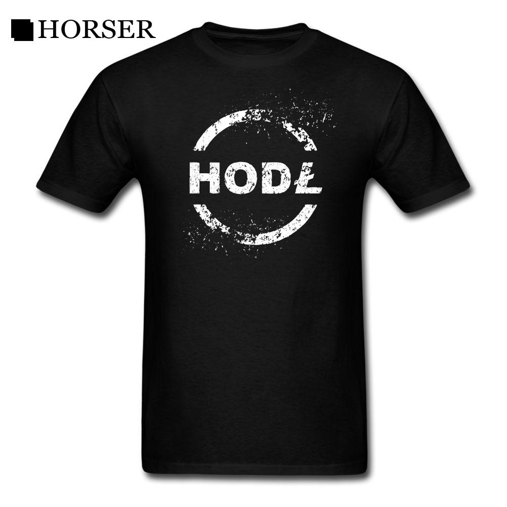 T-Shirts Litecoin Hodl LTC Crypto Monnaie Blockchain Bitcoin BTC Ethereum T Shirt Man O Neck Short