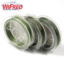 Wifreo 20m Green Camouflage Soft Braided Hooklink Carp Fishing Rigging Line 20LB 26LB 35LB