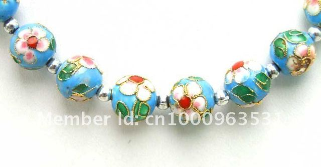 Free shipping!Wholesale/retail 60 Cloisonne necklace