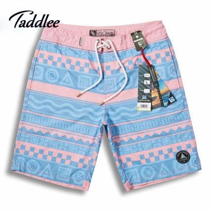 Taddlee Brand Men Beach Swimwear Quick Drying Board Shorts Man Short Bottoms Pants Active Bermudas Mens