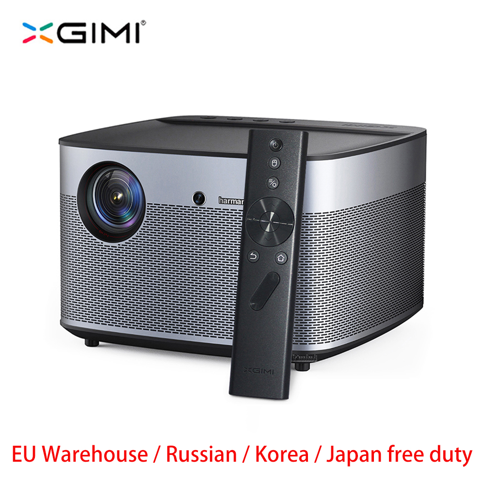 Global XGIMI H2 Projector Full HD DLP 1350ANSI Lumens 1080p LED 3D Video Android Wifi Bluetooth