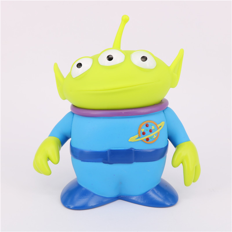 Toy Story Alien Figures 14cm PVC Alien Action Figure Doll Anime Brinquedos Kids Toys For Children 11 5cm pvc funko pop cinderella doll action figure toy princess cinderella model figures for girls hot toys anime brinquedos