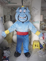 Export High Quality Beard Blue Business Man Mascot Costumes