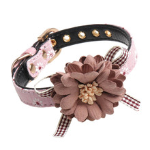 Cats Small Dogs Collars Beautiful Artificial Flower Decorative Collar Pet Products Cat Accessory collar gato mascotas