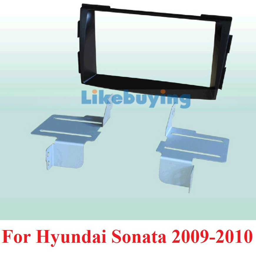 172*97.5mm Size Car Frame Dash Kit / Car Fascias for Hyundai Santafe 2007 2008 2009 2010 2011 2012 2013 Free Shipping 2 din car fascia panel audio panel frame dash frame kit for volkswagen crafter 2008 2009 2010 2011 2012 2013 free shipping