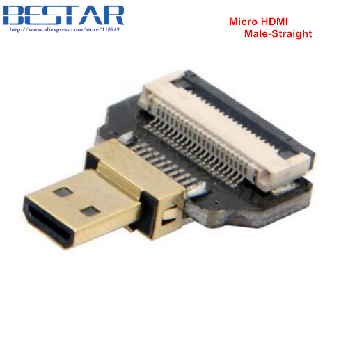 CYFPV Micro HDMI Type D Female-socket & male-Straight & male-Up & - Computer kabels en connectoren - Foto 6