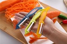 2pcs/lot Fashion Useful Fruit Slices Potatoes Apple Peeling Multifunctional Peeler Tools High Quality Hot Sale kicthen OK 0770