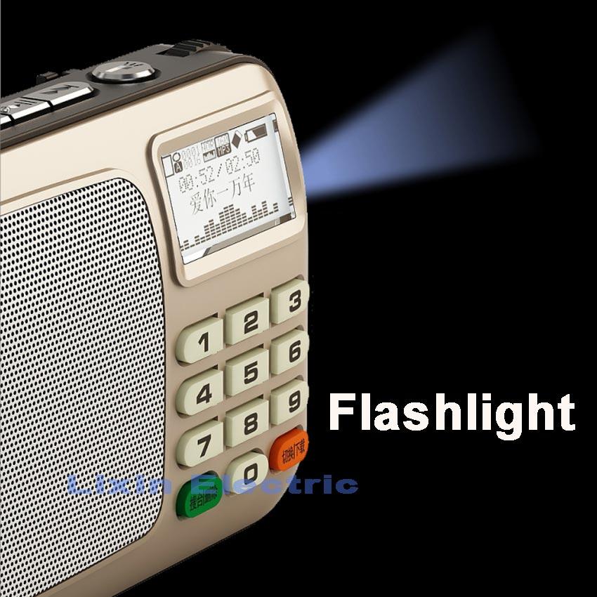 Rolton W505 MP3 Pleyer Mini Portativ Səs Dinamiklər FM Radio LCD - Portativ audio və video - Fotoqrafiya 2
