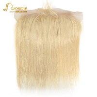 Joedir Hair 613 Lace Frontal Closure Brazilian Straight Human Hair Weave Lace Frontal Closure 613 Frontal 8 20 inch 13*4 Frontal