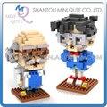 Mini Qute LOZ Conan Agasa Hiroshi diamante cubo de plástico bloques de construcción de ladrillo Anime figuras de dibujos animados modelo educativo del juguete
