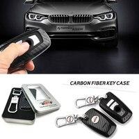 Best Match Car Key Rings Carbon Fiber Car Key Case Chains Badge Case For Bmw GT