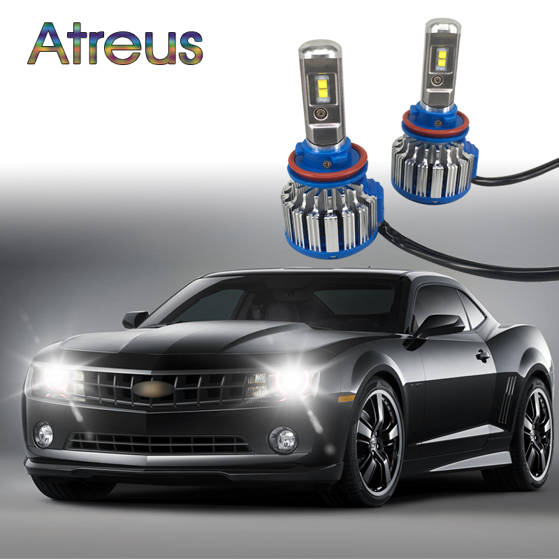 Atreus Car <font><b>Headlights</b></font> <font><b>H7</b></font> <font><b>LED</b></font> For <font><b>VW</b></font> <font><b>polo</b></font> Toyota Honda Ford focus 2 3 Lada accessories 9005 9006 9012 70W 7000lm Headlamp 6000K image